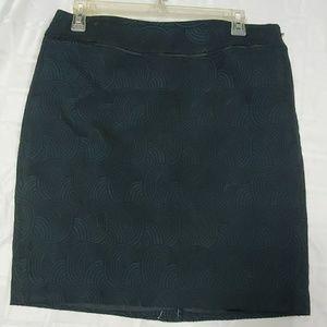 Ann Taylor Green Skirt - size 8